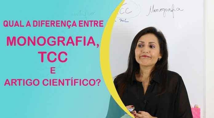 Qual a diferença entre Monografia, TCC e Artigo Científico?