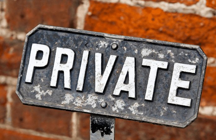 As bolsas em instituições privadas