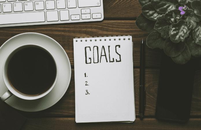 Não pensar nos objetivos
