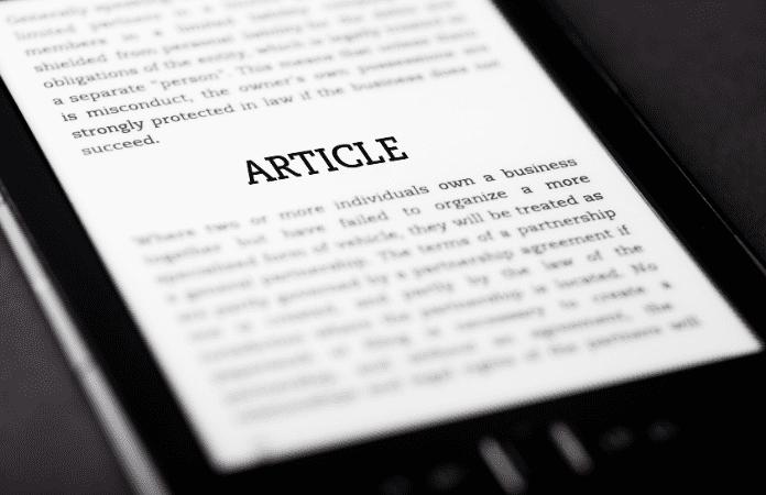 Os múltiplos usos de um artigo científico