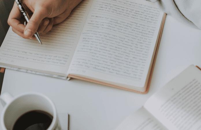 A falta de hábito da escrita