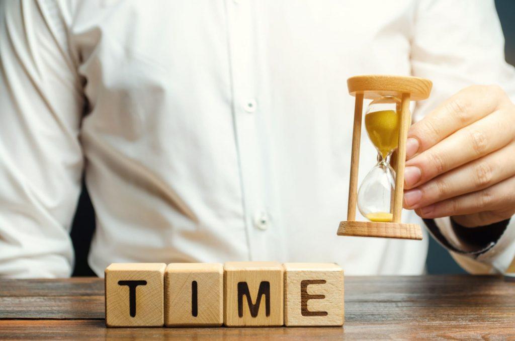 Não deixe o tempo simplesmente passar