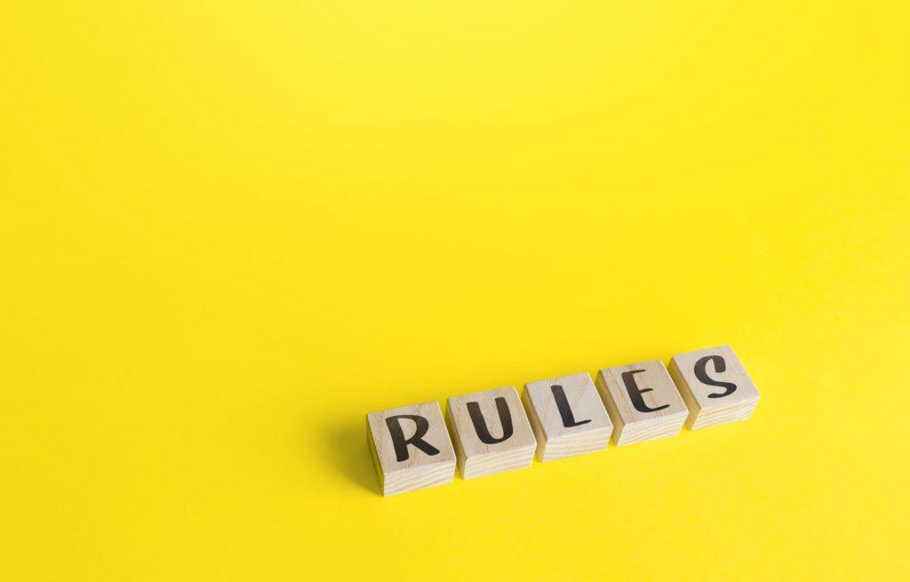 As regras dos órgãos reguladores