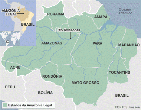 Estados da Amazônia Legal
