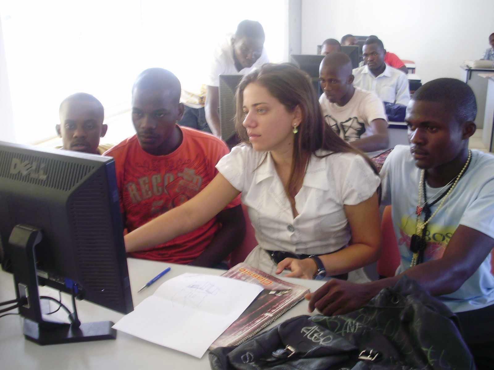 1º Curso de AutoCAD para alunos e professores. Ano 2010.