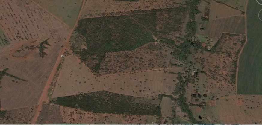 Figura 02: Área antes da implantação. Fonte: Google Earth 2006