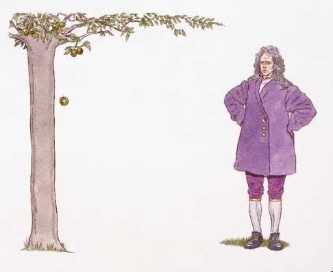 Isaac Newton e a Lei da Gravidade