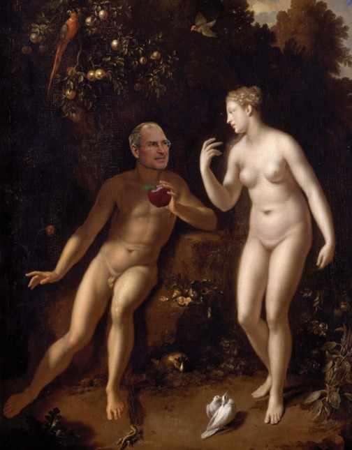 Steve Jobs e Eva