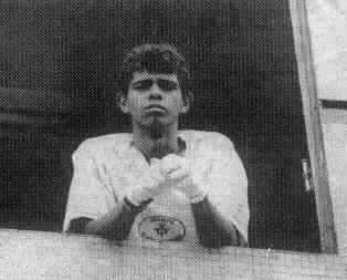 Figura 4 - Israel Batista dos Santos, 22 anos, foi empregado de Devair Ferreira. Fonte: http://g1.globo.com/goias/noticia/2012/09/