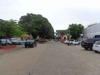 Figura 2 - Avenida João Durval Carneiro – Centro de Posto da Mata.