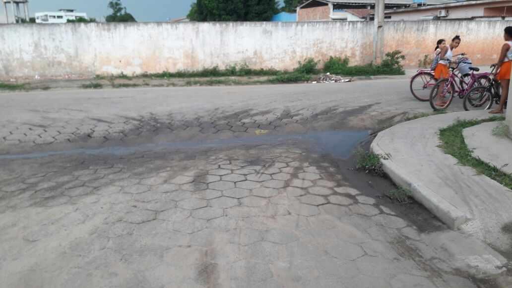 Figura 5 - Áreas Alagadas na Cidade de Posto da Mata (Ruas Pavimentadas)