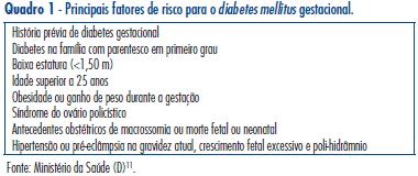artigos sobre diabetes mellitus gestacional