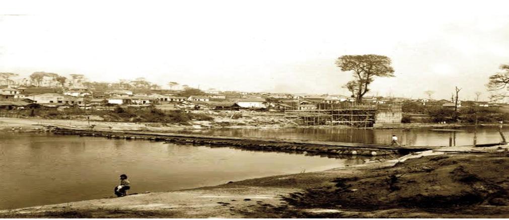Figura 1: Ponte de Tambor. Fonte: Cláudio Barcelos.
