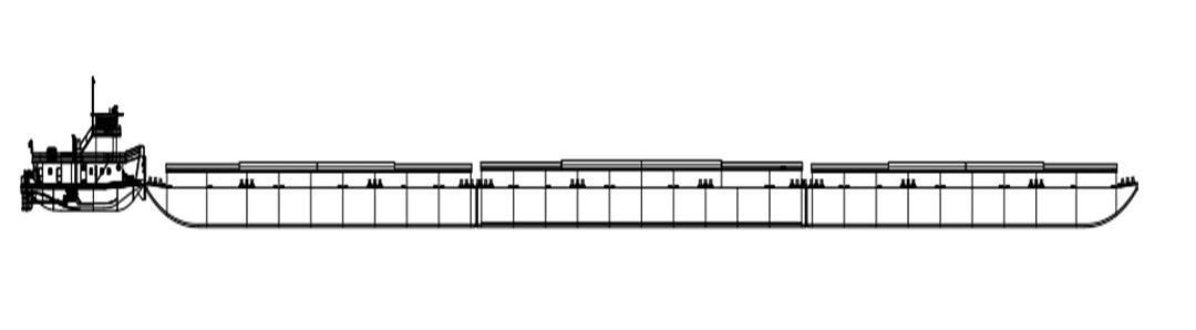 Figura 3 - Formação de comboio graneleiro. Fonte: O próprio autor