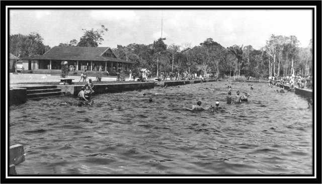 Figura 5 - Balneário do Parque 10. Fonte: IBGE (1963)