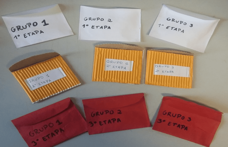 Figura 5 - Envelopes contendo as soluções