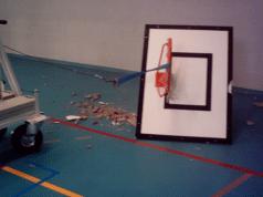 Imagem 06 – Acidente com tabela de basquetebol Tipo 7 (Poste de concreto ou de aço). Fonte: Engº José Manuel Viegas - Lemon Safe.