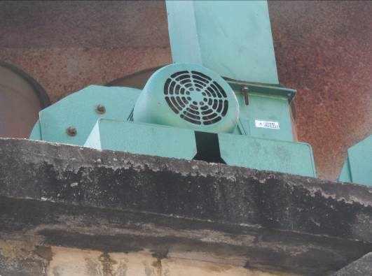 Figura 47 - Motores elétricos de exaustão
