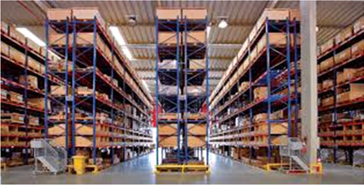 Figure 3: Port Pallets used after optimization of inventory control and management processes. Source: Logistics & Supply Chain Magazine page.