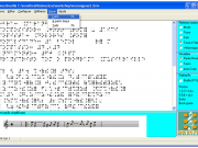 Figura 5 - Exemplo de funcionamento do software MusiBraille.Fonte:http://intervox.nce.ufrj.br/musibraille/textos.htm