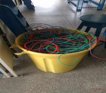 Figura 13 – Fios e cabos elétricos. Fonte: Autor
