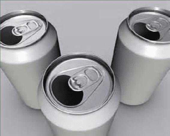 Figura 31 – Latas de alumínio. Fonte: Núcleo de meio ambiente
