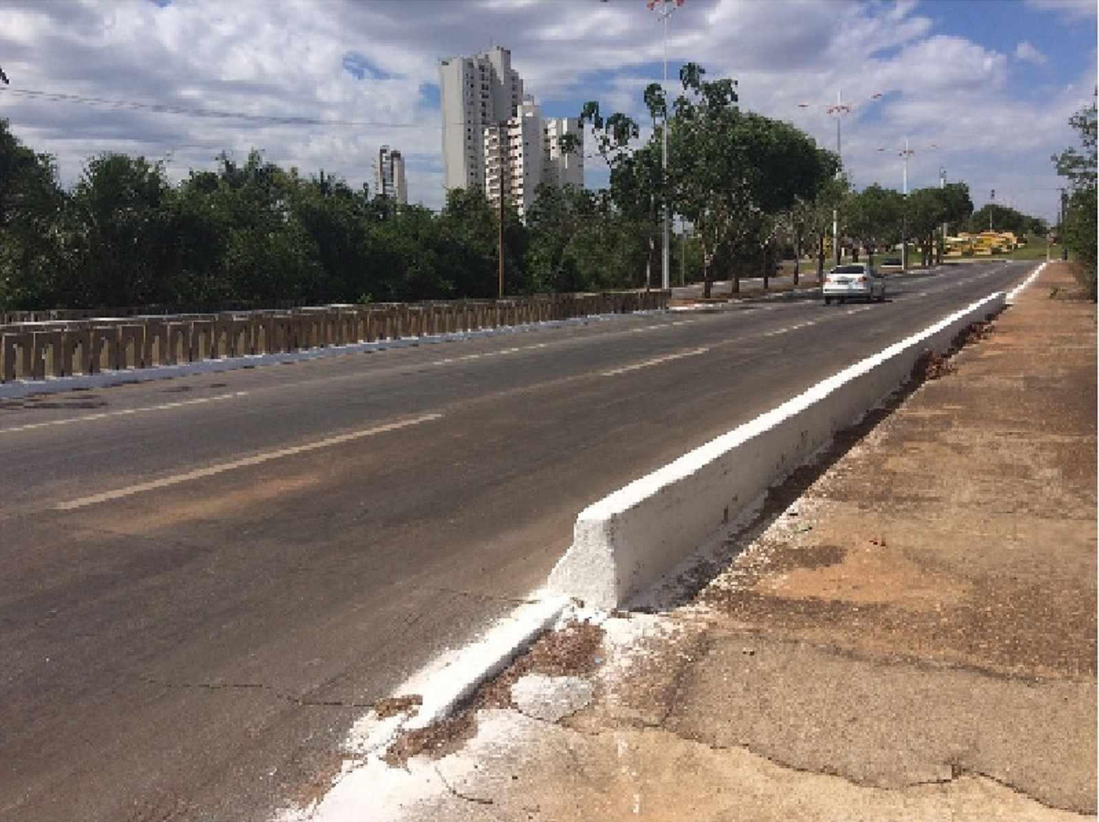 Figura 2 - Ponte estudada na cidade de Palmas- TO