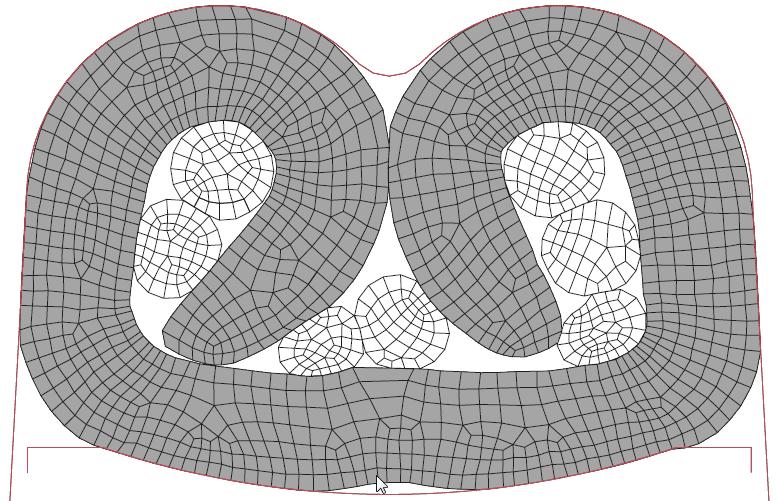 Figura 11: Terminal crimpado com atrito punção-terminal de 0.20.
