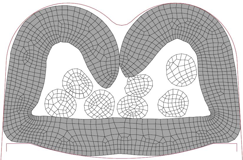 Figura 18: Terminal crimpado com velocidade do punção de 52,5 m/s.