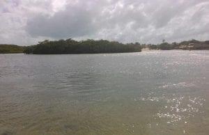 Figura 1: Lagoa da Sabiaguaba.Fonte: Arquivo pessoal, 2015.