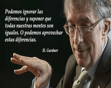 Figure 1 : Howard Gardner. Source : Psycho Ativa.com : Las mejores Phrases de Howard Gardner, 2017.