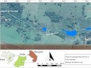 Figura 1 - Imagem de Satélite da Área de Estudo do Trecho 1.Fonte: Google Earth.