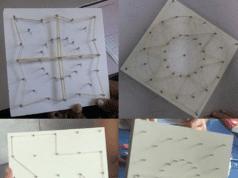Figura 11: Construções com o geoplano