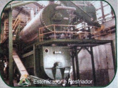 Figura 12: Esterilizador e Resfriador. Fonte: Catálogo disponibilizado pela empresa Grande Rio Reciclagem Ambiental