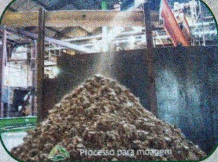 Figura 13: Moagem da Farinha. Fonte: Catálogo disponibilizado pela empresa Grande Rio Reciclagem Ambiental