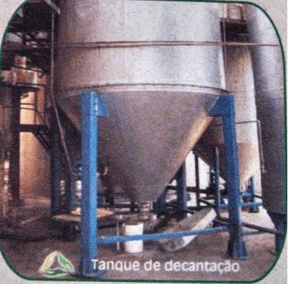 Figura 22: Tanque de Decantação. Fonte: Catálogo disponibilizado pela empresa Grande Rio Reciclagem Ambiental