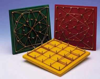 Figure 03: Geoboard types available at: http://lerecompreenderparaaprender.blogspot.com.br/2011/03/geoplano.html