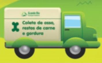 Figura 5: Caminhão de coleta de osso, restos de carne e gordura animal. Fonte: www.granderioambiental.com.br