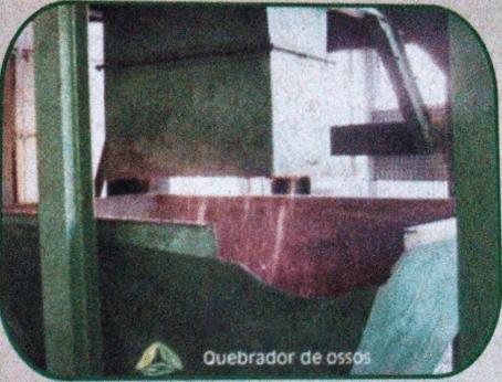 Figura 8: Quebrador de Ossos. Fonte: Catálogo disponibilizado pela empresa Grande Rio Reciclagem Ambiental