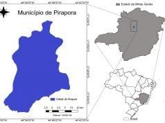 Figura 1: Localização da cidade de Pirapora – MG.Fonte: Adaptado de DATUM: SIRGAS, WGS 84