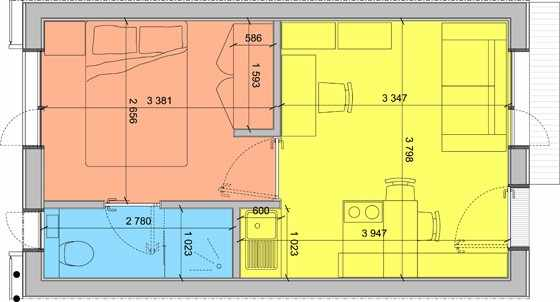 Figura 4 - Layout do Apartamento