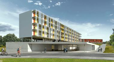 Figura 06 – Imagem do edifício. Fonte: Archdaily, 2015.