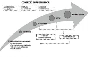 Figura 1 – Contexto dos empreendedores brasileiros. Fonte: GEM Brasil 2016.