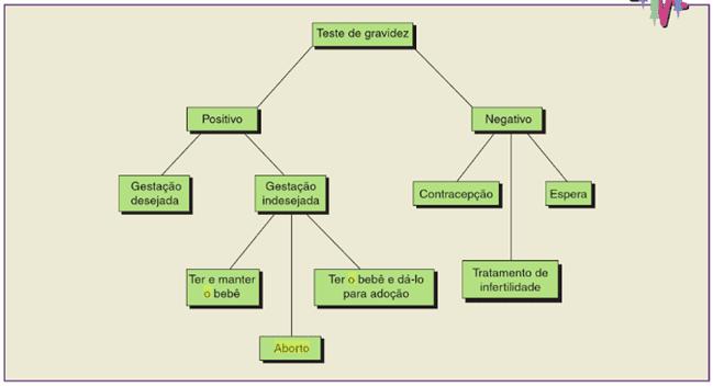 Figura 1 – Desfecho das mulheres para um aborto.Fonte: (ORSHAN, 2011)