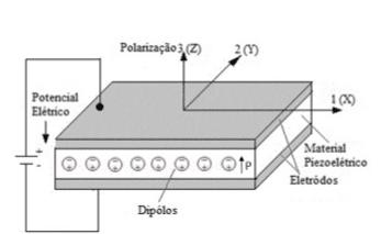 Figura 3 - Demonstração das direções dos eixos ortogonais.Fonte: Lima (2010, p.7)Figura 3 - Demonstração das direções dos eixos ortogonais.Fonte: Lima (2010, p.7)