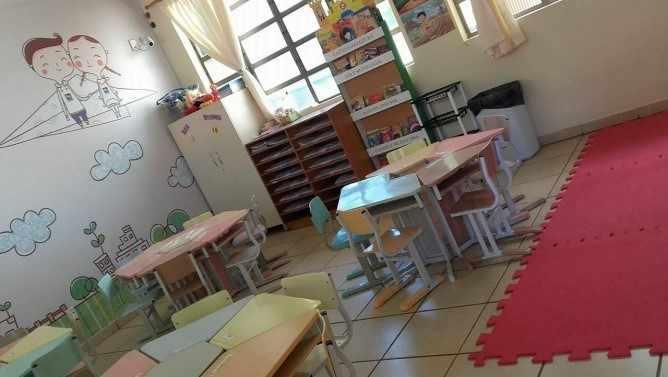 Figura 5: Sala de educação infantil. Foto da autora, 2017.